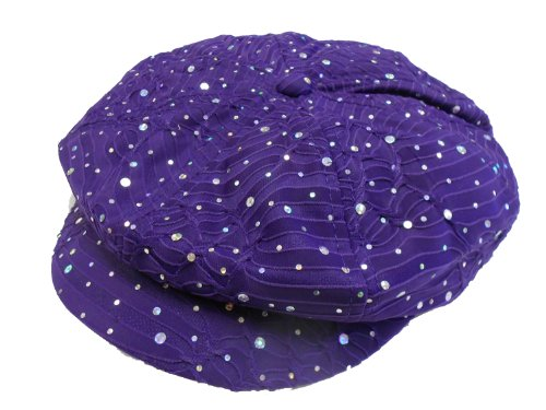 Glitter Newsboy Cap /// Purple /// Why pay more for the same (Sparkle Newsboy Cap)