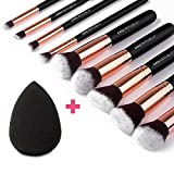 CHIC REPUBLIC 10 Piece Kabuki Contouring Makeup Brush - Best Reviews Guide