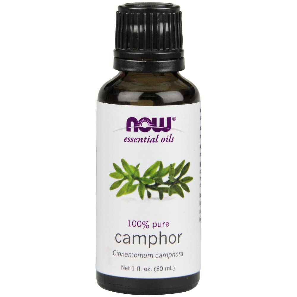NOW Camphor Oil, 1-Ounce (Pack of 2)