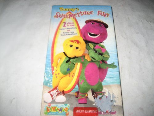 UPC 045986020789, Barney's Summertime Fun(2 videos in one)