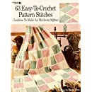 Leisure Arts ''63 Easy-To-Crochet Pattern Stitches'' Book By The Each
