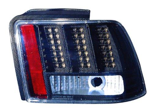 Depo M30-1903P-US3 Ford Mustang Carbon Fiber LED Tail Light