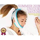 [New for 2019] Sleep Lab's Best Anti Snoring Chin Strap, Soft, Breathable Material & Voted #1 Best Snore Strap in North America, Anti Snoring Devices, Anti-Snore Strip, Sleep Aid for Men, Women & Children, Chin Strap for CPAP users