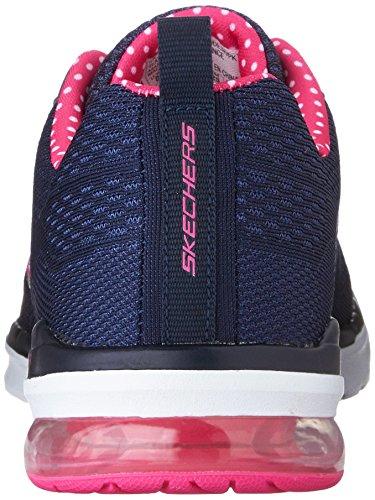 Skechers Womens Air Infinity Navy / Pink