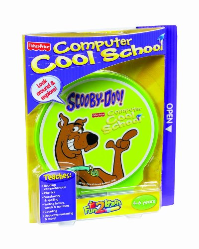 Fisher-Price Fun-2-Learn Computer Cool School Scooby-Doo - Learn Computer Fun 2