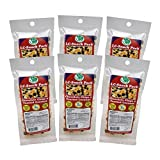 Dark Chocolate & Toasted Coconut Snack Pack (6 Pack) - LC Foods - Low Carb - All Natural - Paleo - Gluten Free - No Sugar - Diabetic Friendly - 1.7 oz Each