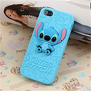 Lovestal Cute Cartoon 3D Pixar Finding Nemo Clownfish Soft Silicone Back Case Cover for Apple iPhone 5 5G 5S + 1psc Lovestal Wristband (Mike Wazowski) by ruishername