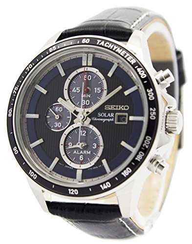 Seiko Chronograph SSC437P1 Watch Classic & Simple