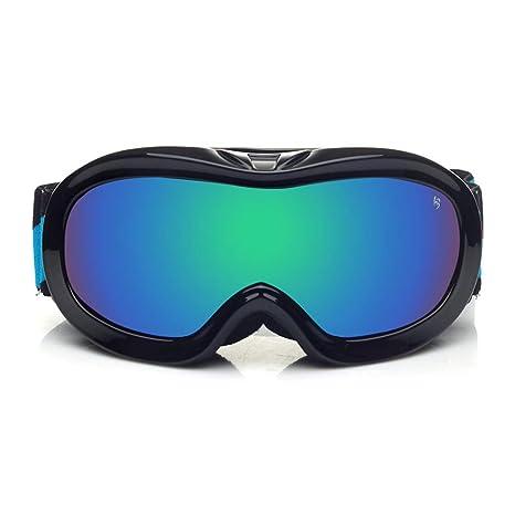 ZX-gafas de esqui Niño Anti Niebla A Prueba De Viento TPU ...