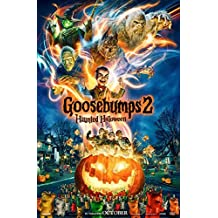GOOSEBUMPS 2: HAUNTED HALLOWEEN (2018) Original Movie Promo Poster 11.5x17 - Jack Black