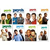 Psych: Complete Series Seasons 1-8 DVD