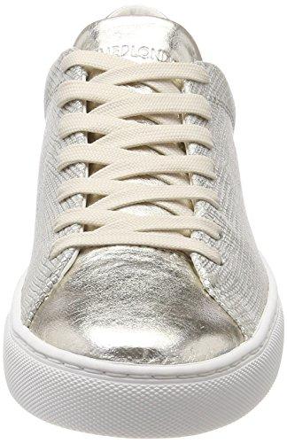 Or Platin Femme Sneakers London Crime Basses 25200ks1 wqzXRfY