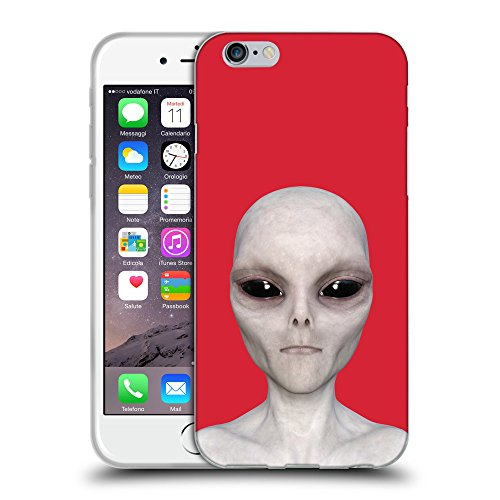 GoGoMobile Coque de Protection TPU Silicone Case pour // Q05510601 Alien encore Alizarina // Apple iPhone 7