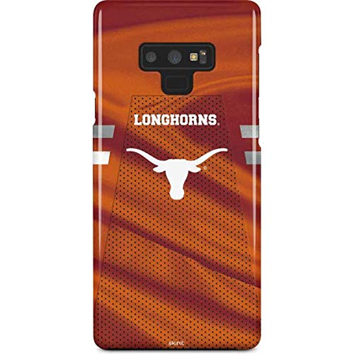 Skinit University of Texas at Austin Galaxy Note 9 Lite Case - Texas Longhorns Jersey Design - Ultra-Thin, Lightweight Phone Cover ()