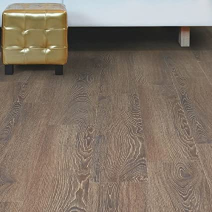Woodclick Luxury Click Vinyl Flooring Dark Oak Wood Effect Lvt