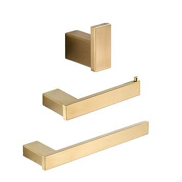 Amazon.com: AOTAKE - Juego de accesorios para baño (3 piezas ...