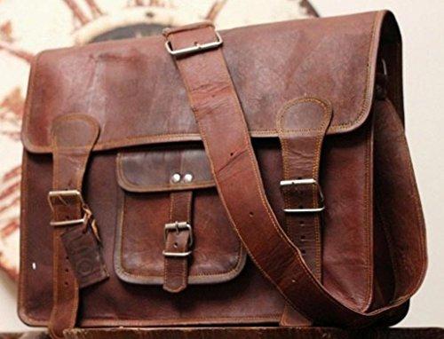 Phoenix Craft Leather Messenger bag Satchel Shoulder Bag