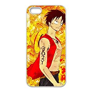 C-EUR Diy case One Piece 3 customized Hard Plastic Case For iPhone 5,5S [Pattern-5]