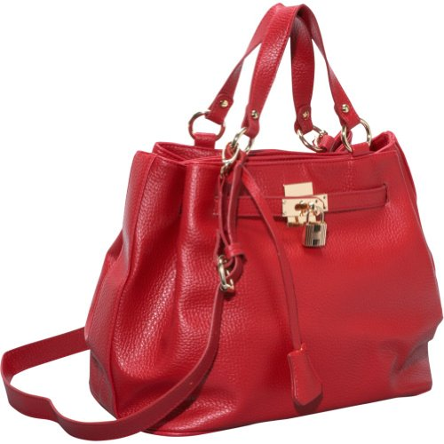 Mellow World Verona Tote Bag (Red), Bags Central