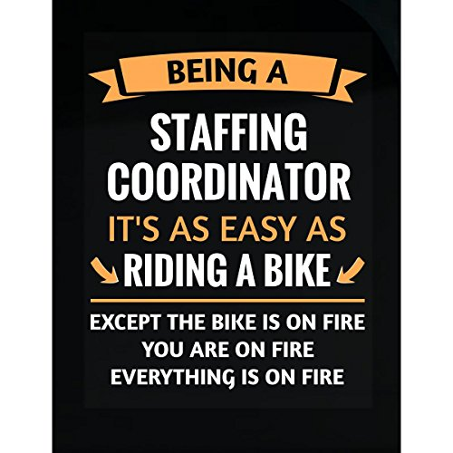 Funny Staffing Coordinator Design Gift   Sticker