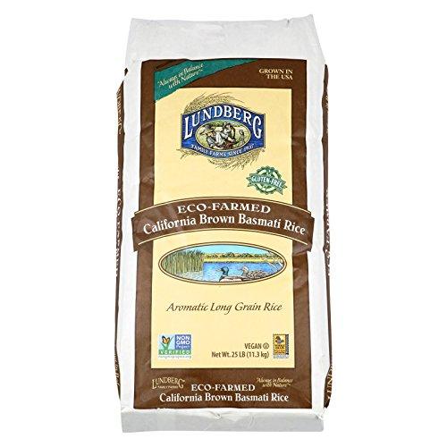 Lundberg Family Farms Brown Basmati Rice - Case of 25 - 1 lb. by Lundberg