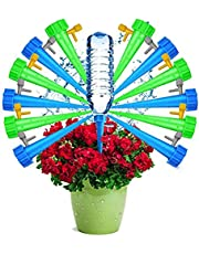 Adjustable Self Watering Spikes.Indoor Outdoor Plastic Bottle Garden Plants Drip Irrigation Spike System. Plant Waterer Care Your Plants and Flowers 12pack