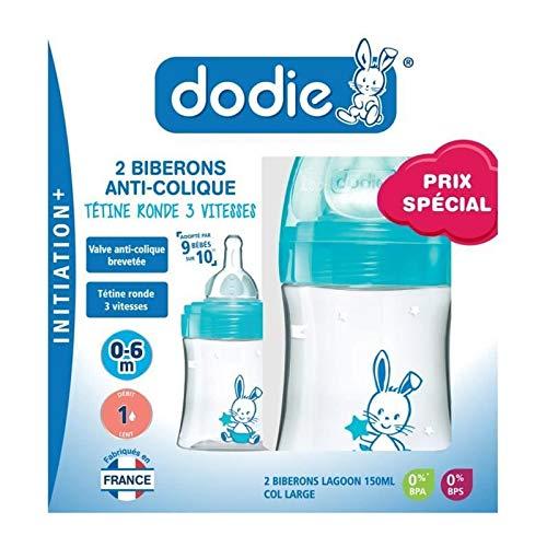 Dodie 3700763500461 Set Mit 2 X Flasche Initiation Valentin Lagune mehrfarbig