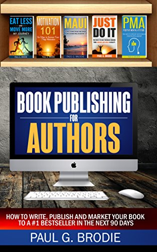 Book Publishing For Authors by Paul Brodie ebook deal