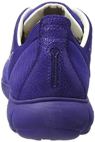 Basses Dk Geox Violetc8019 Bleu Femme Baskets G Nebula 4xzzHZTv