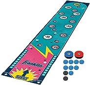 Franklin Sports Shuffleboard Table Game Mats – Tabletop Shuffleboard Mats and Pushers – Indoor Shuffleboard an