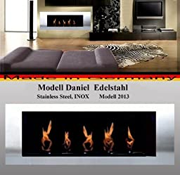 BIO ETHANOL FIREP PLACE MODEL DANIEL - Choose from 6 colors (Stainless Steel)