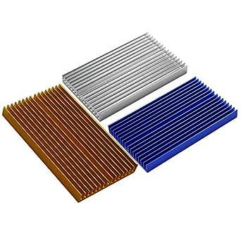 Amazon com: 100x60x10mm Aluminum PCB Heatsink Cooler Radiator for