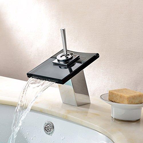 Lightinthebox Deck Mount Single Handle Glass Spout Single