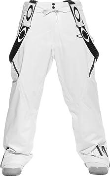 Amazon Com Oakley Ascertain Pantalones De Esqui Para Hombre Color Blanco L Blanco Automotive