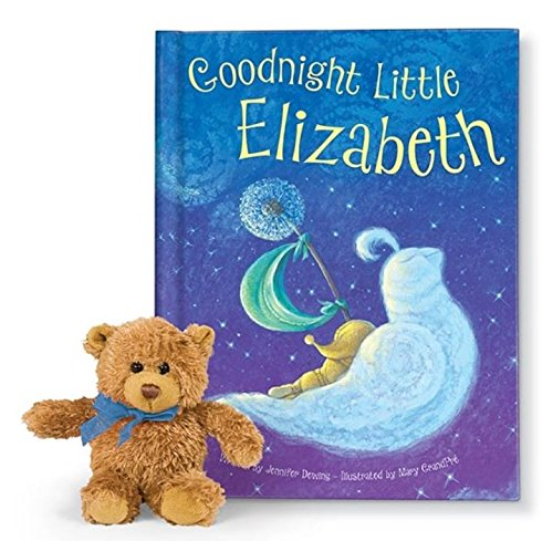 Goodnight Little Me Personalized Storybook Gift Set with Bear: I See Me! Book / A Perfect Baby Shower Gift! …
