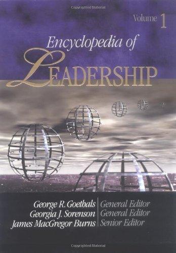 Encyclopedia Leadership Sorenson MacGregor 2004 03 01 product image