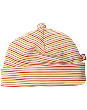 Sunset Mini Stripe Organic Beanie Hat!
