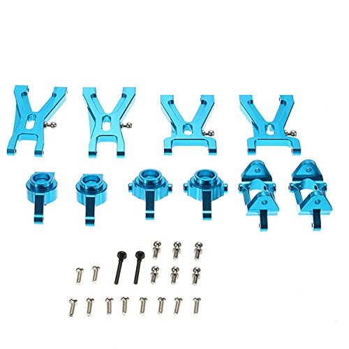 Utini A959-B A979-B A969 A979 K929 Upgrade Metal Parts Package Suspension Arm Steel Ring Wheel Hub - (Color: Blue) -  UTN-68B4C9EF7C0D0DE4B40B786704EDF707