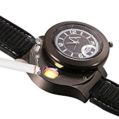 Highlights:As a wrist watch: A special and useful quartz watch keeps time accurate and precise. Soft and breathable silicon band with holes and buckle allows you resize it to fit your wrist. The non-function sub-dial for decoration, wh...