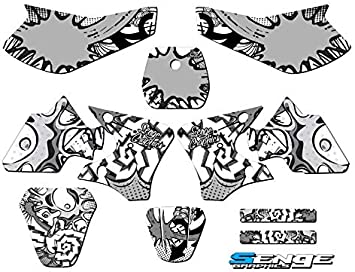 2000-2008 TTR 90 Compatible with Yamaha Senge Graphics Zany Blue Complete kit