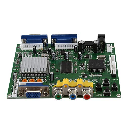 TOOGOO(R) GBS8220 Arcade Game CGA/YUV/EGA/RGB Signal to VGA HD Video Converter Board (Dual Output)