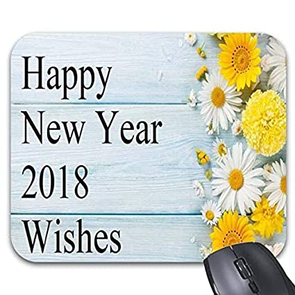 happy new year wishes mouse pads 1187 x 986 stylish office computer accessories