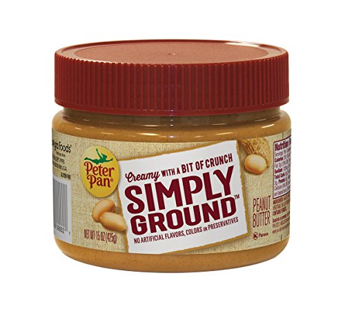 Peter Pan Simply Ground Peanut Butter, 15 oz