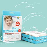 Meiyiu Baby Navel Stickers, 10PCS Baby Umbilical Stickers Cord Umbilical Waterproof Disposable Baby Umbilical Paste