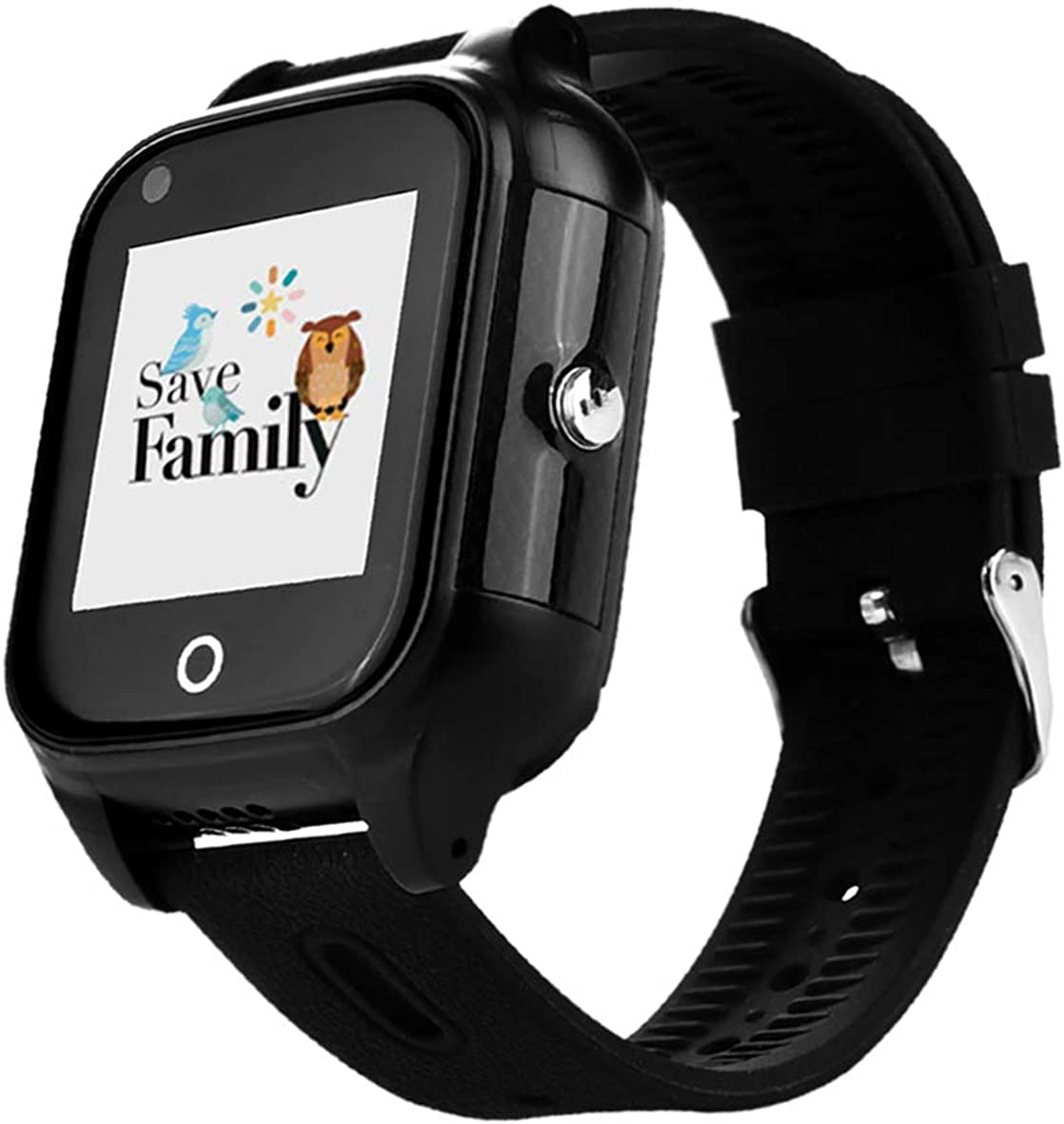 Reloj-Smartwacth 4G Urban con Videollamada & GPS instantáneo para Infantil y Juvenil SaveFamily. WiFi, Bluetooth, identificador de Llamadas, Boton SOS Resistente al Agua Ip67. App SaveFamily