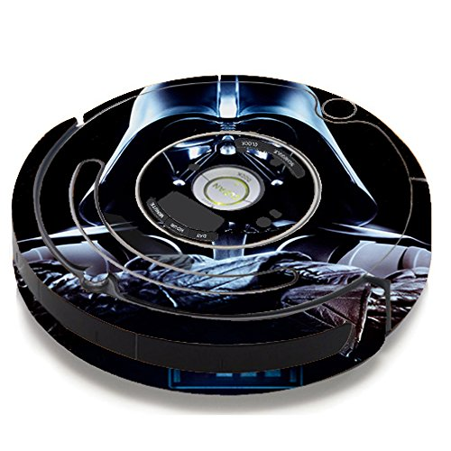 Skin Decal Vinyl Wrap for iRobot Roomba 650 655 Vacuum / Darth