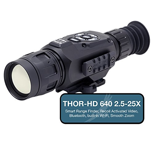 ATN THOR-HD 640 Thermal Imaging Rifle Scope, up to 25x Magni