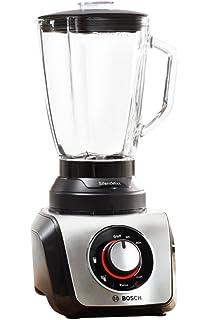 Bosch SilentMixx MMB65G0M - Batidora de vaso, 800 W, 2.3 litros, selector de