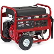 Powermate PC0497000 Honda Engine Portable Generator with Recoil Start, 7000-watt, CSA Compliant (Discontinued...