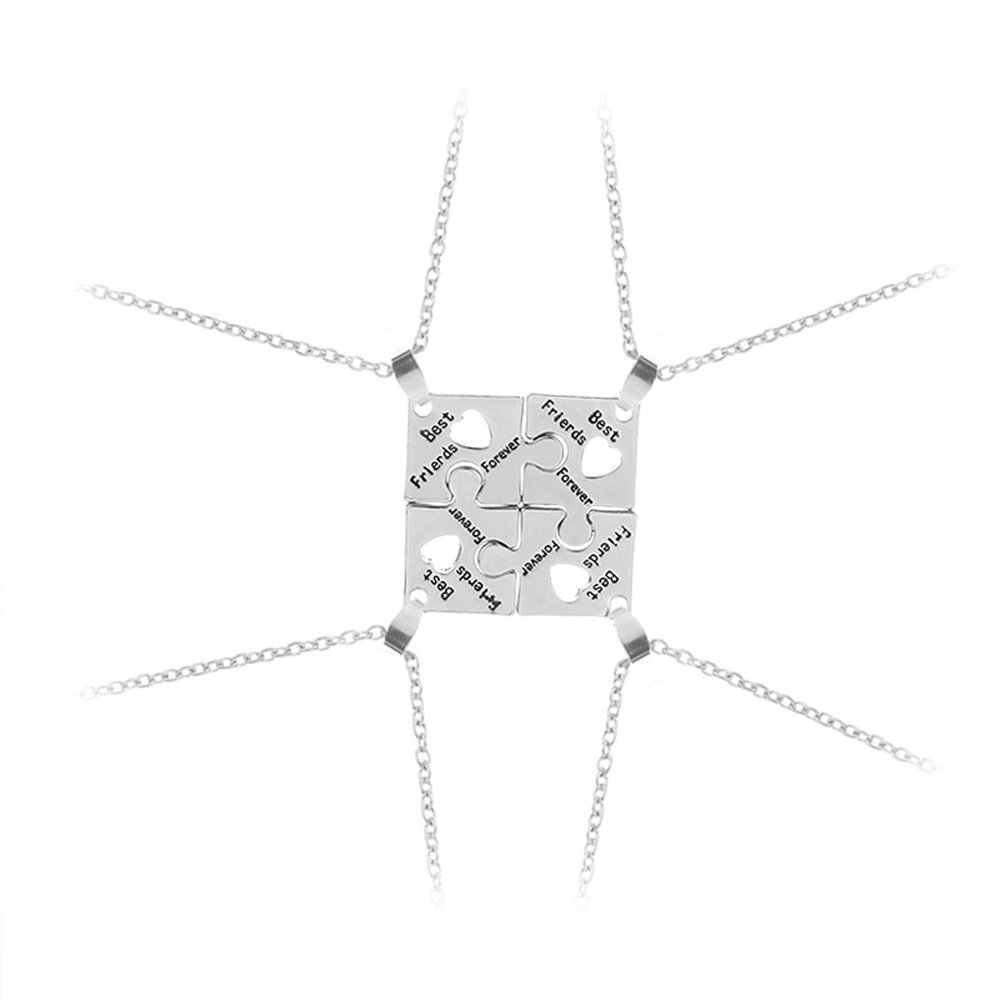 'Elegant Rose Completo di 4pezzi lega collane